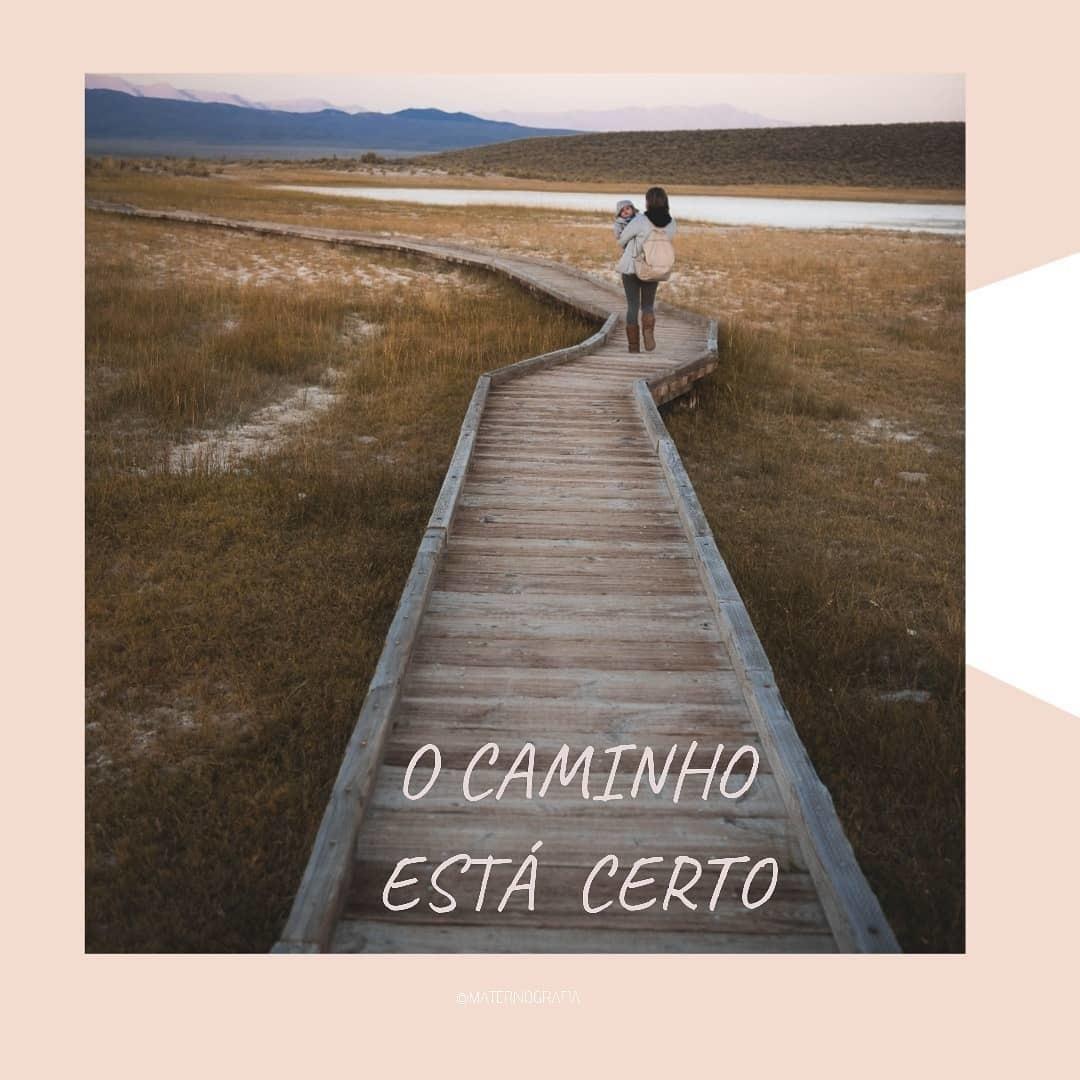Imagem capa - O CAMINHO ESTÁ CERTO  por Daniela Lugarinho