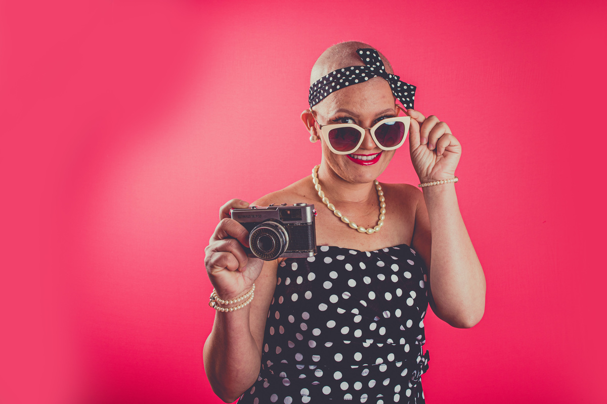 Imagem capa - Ensaio Pin-up Outubro Rosa | GAPC por May Rabello