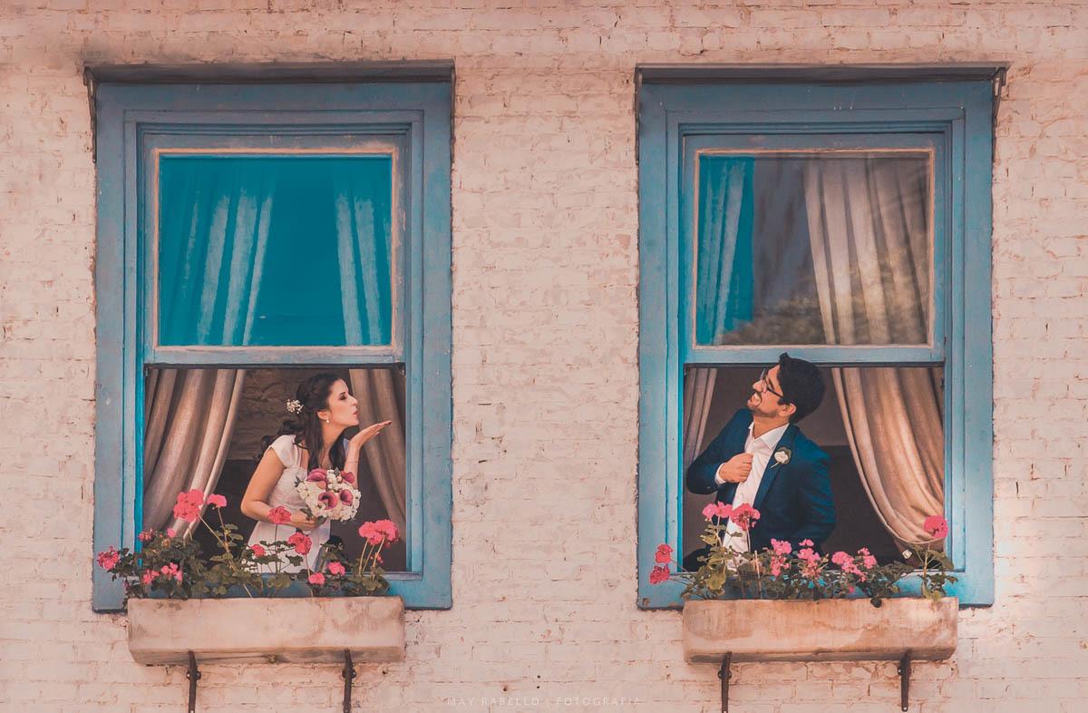 Imagem capa - Mini Wedding em SP | Casinha Quintal | Aimée e Gabriel por May Rabello