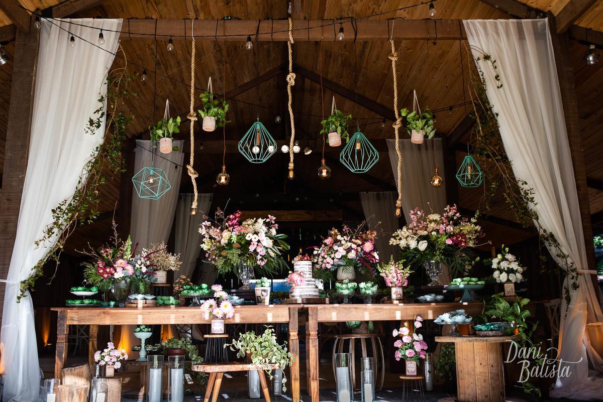 Imagem capa - Decoração Casamento no Campo Nosso Celeiro por Dani Batista
