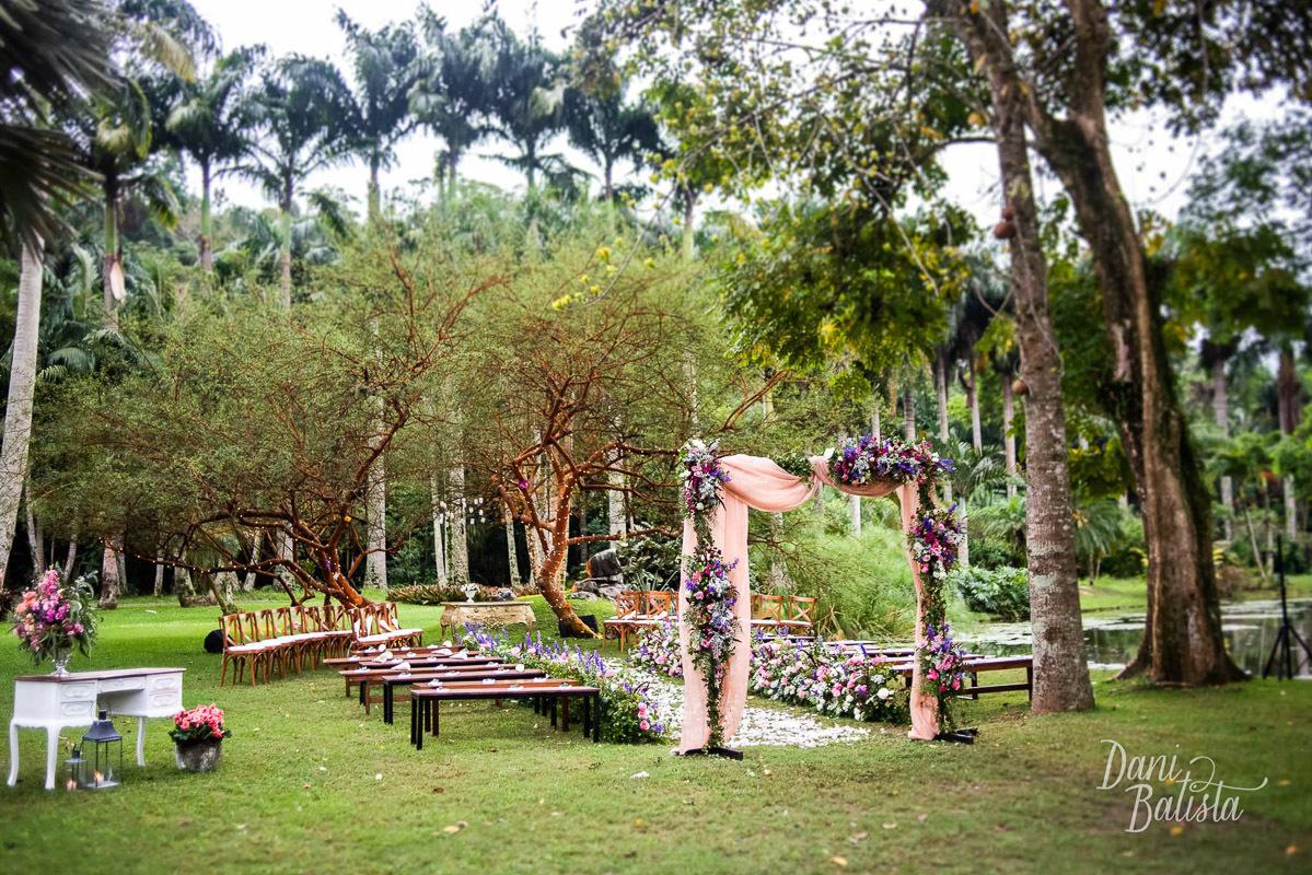 Imagem capa - Decoração Casamento Vintage Diurno Lago Buriti por Dani Batista