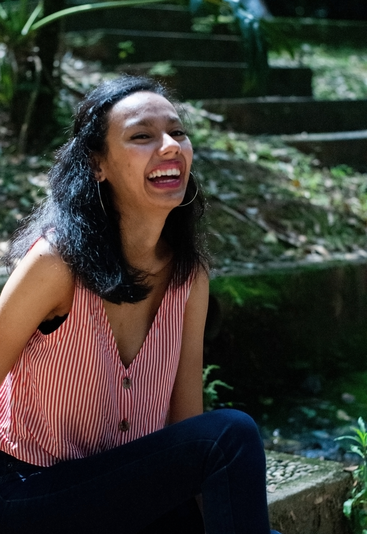 26ª Letícia Seu sorriso é luz de profunda beleza e o mundo é afortunado por ser iluminado por ele.