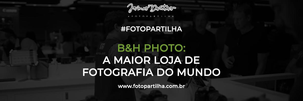 Imagem capa - B&H Photo: Um Tour na Melhor Loja de Fotografia do Mundo com Paulo Del Valle por James Dantas Costa
