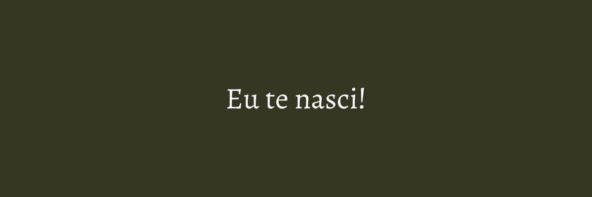 Imagem capa - EU TE NASCI por Marcela Rosa