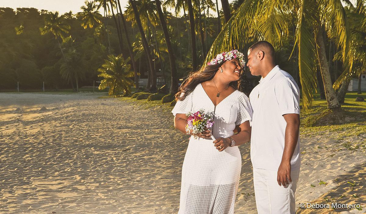 Pré wedding na praia