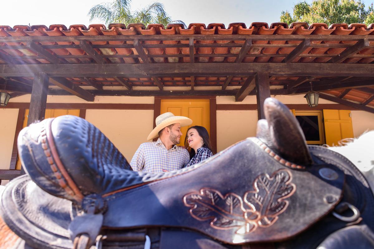 noivos com cavalos