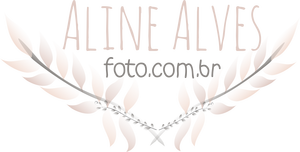 Logotipo de Aline Alves