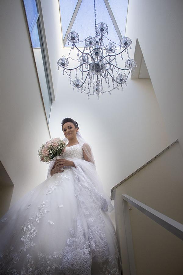 Making off da noiva, noiva pronta para casar