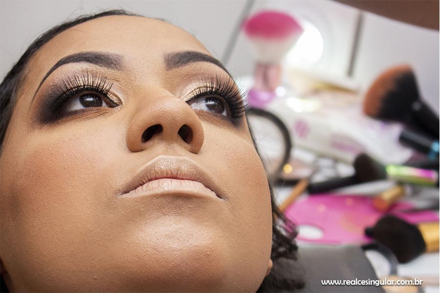 Making off da Noiva, maquiagem pele morena