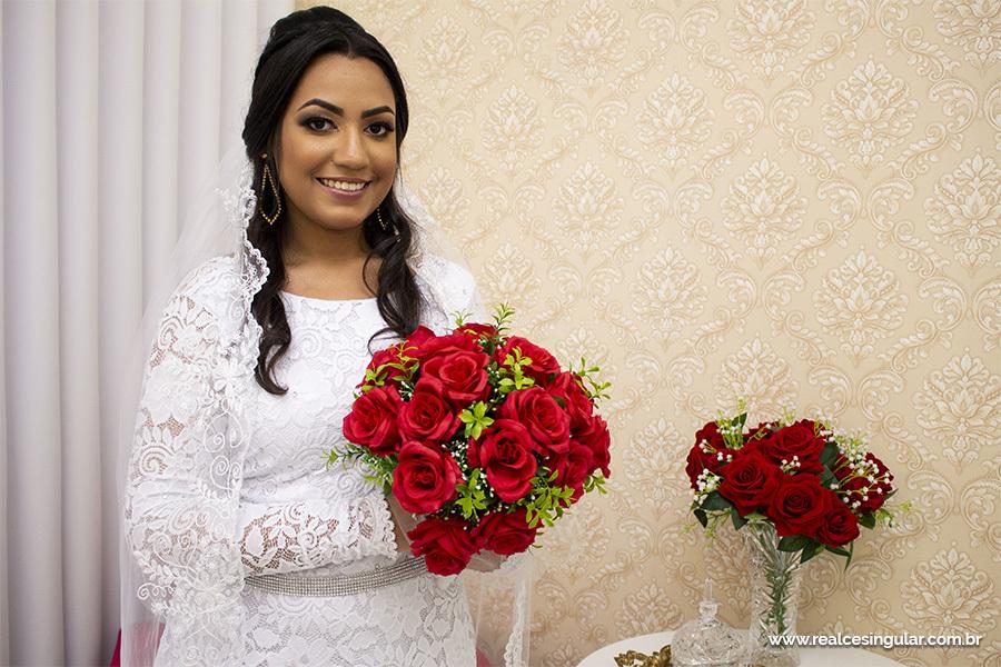 Making off da Noiva, noiva se pronta para o casamento