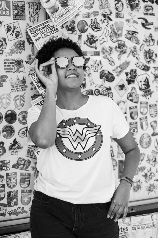 Ensaio feminino, morena, black power, fotografia em São Paulo