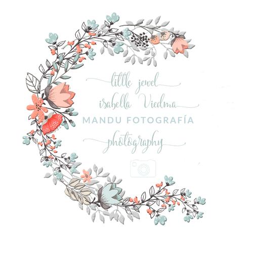 Logotipo de mandu fotografia