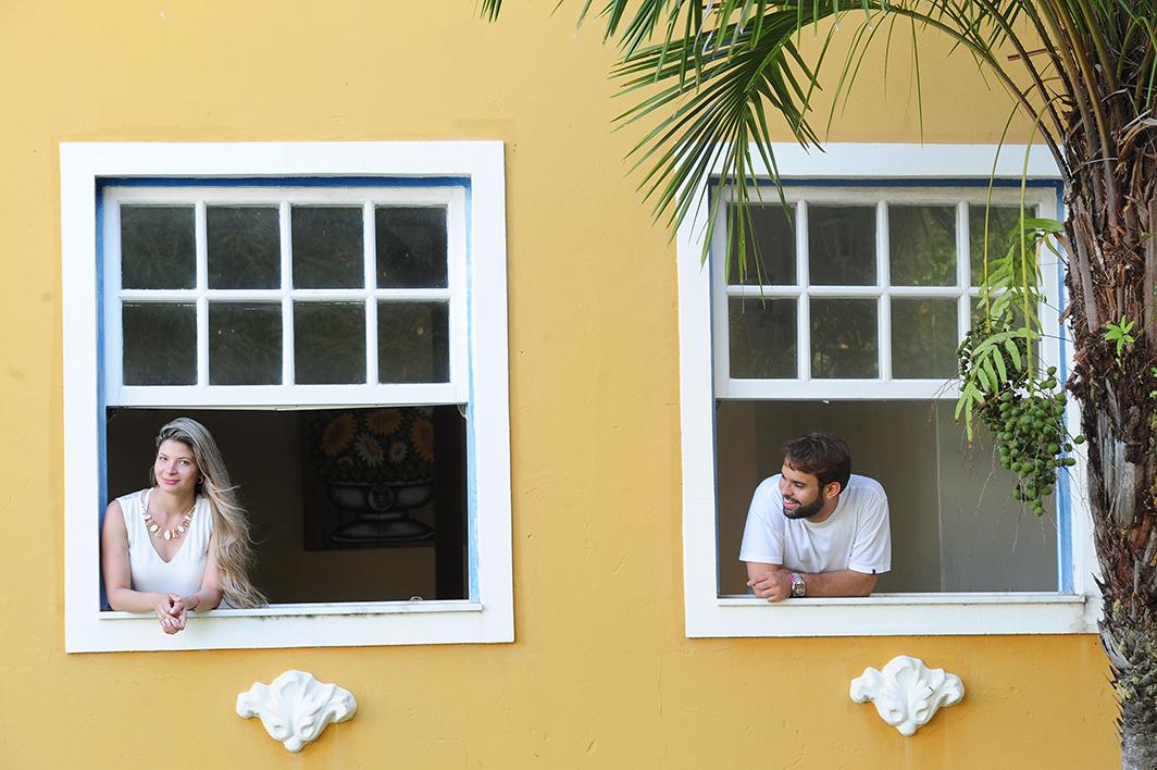 um olhar entre as janelas