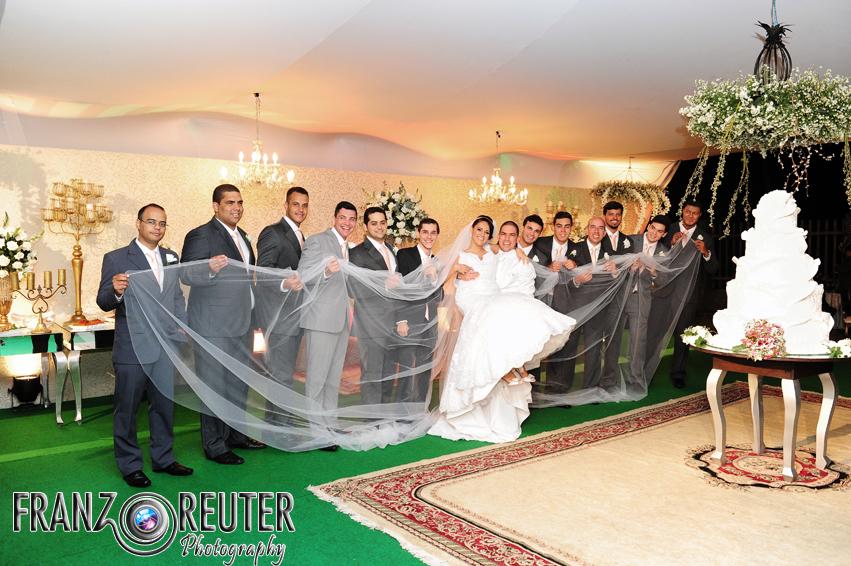 Um véu de noiva