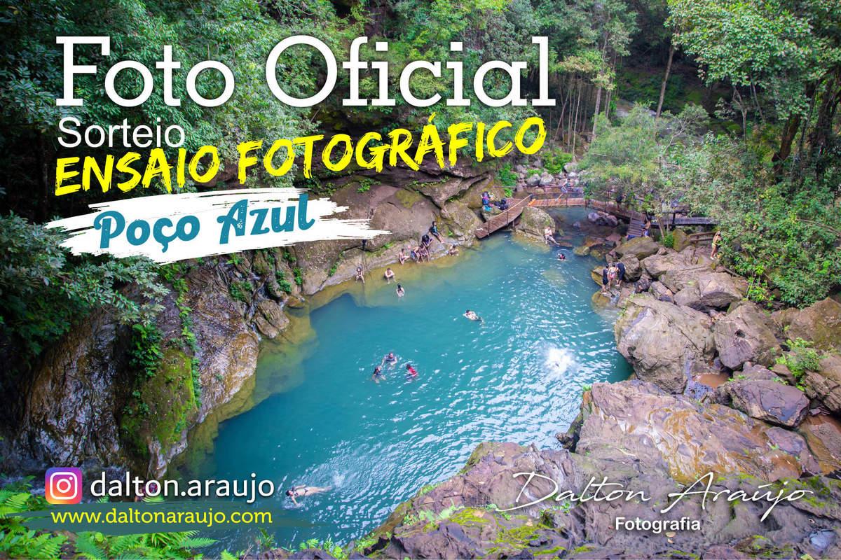 Imagem capa - Quer ganhar um ensaio fotográfico no Poço Azul? por Dalton Carmélio L Araújo