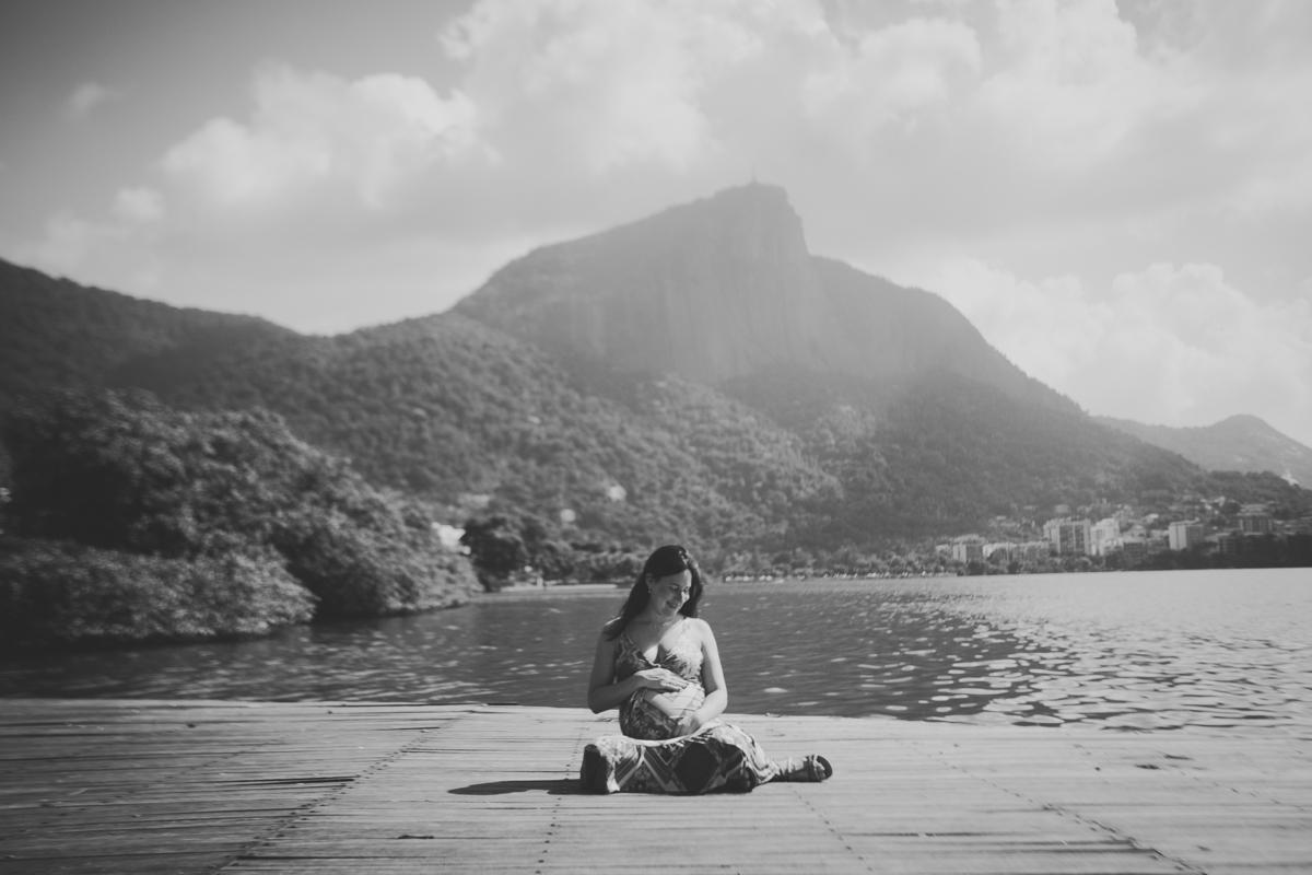 Imagem capa - Ensaio Gestante - Lagoa Rodrigo de Freitas, Rj  por Bia Backer Fotografia