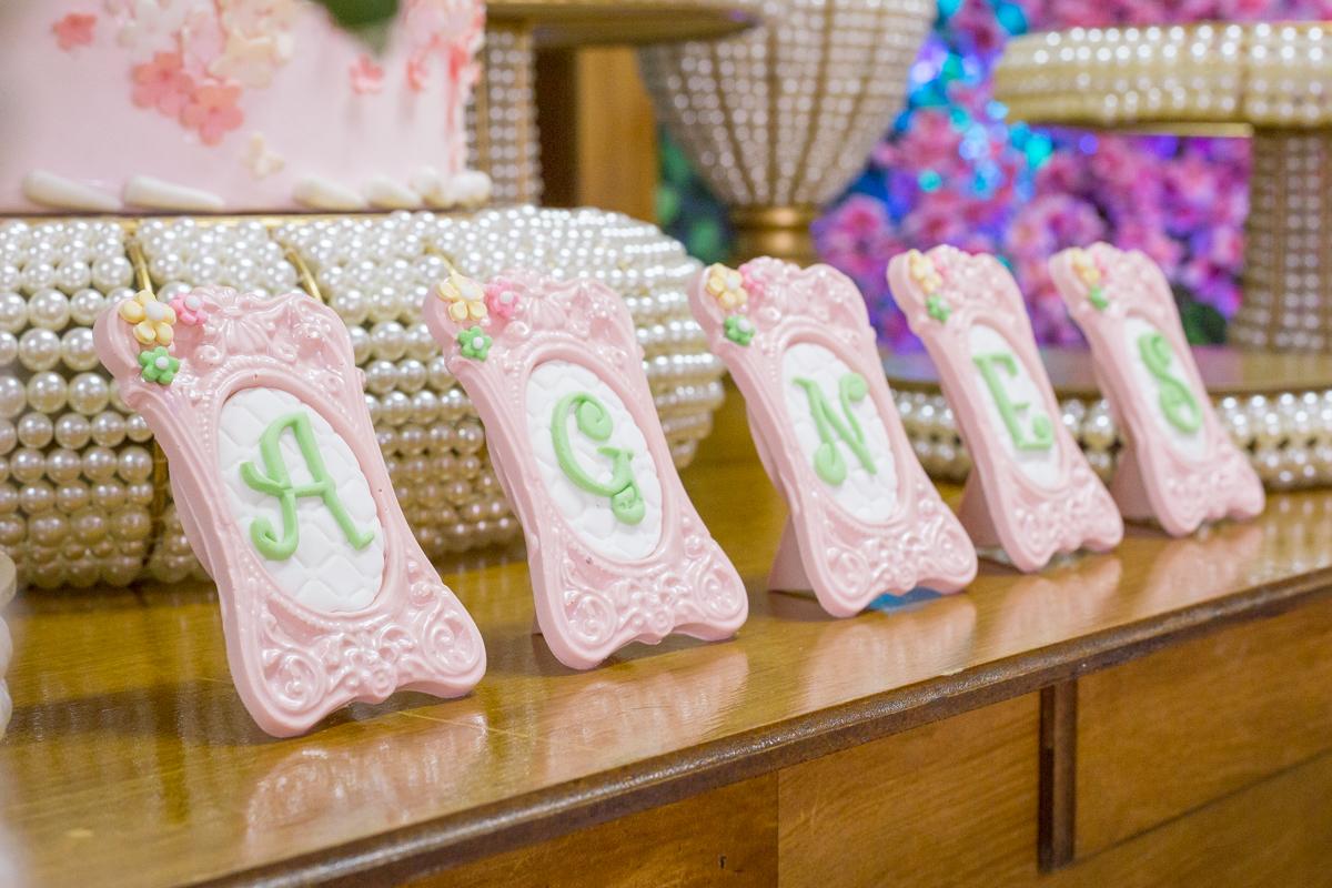 personalizados , doces personalizados, chocolate personalizado, decoração tema jardim