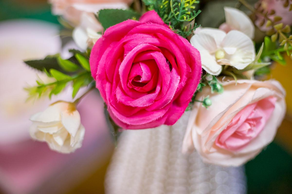 arranjo de flores, decoração com flores, festa infantil com flores, festa infantil Curitiba