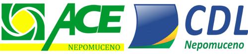 Logotipo de Associação Comercial e CDL Nepomuceno