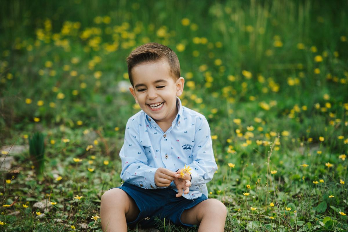 Infantil Sesión Fotografia Infantil En Exterior Con Gandia