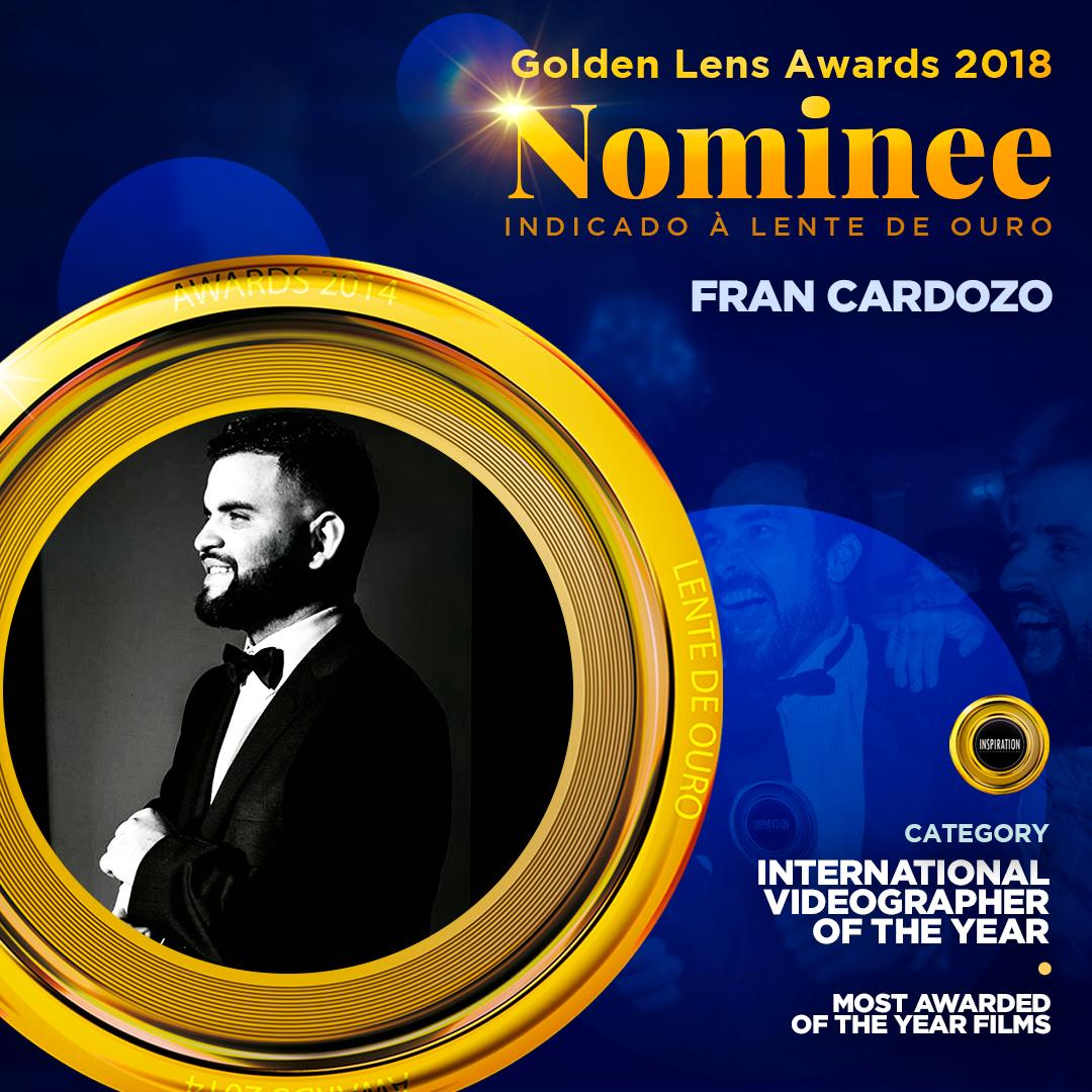 Imagem capa - 3 Nominaciones al Lente de Oro 2018! por Francisco Javier Cardozo Escobar