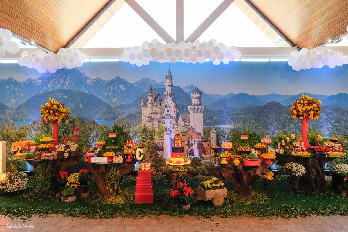 Imagem capa - Decoração festa infantil festa alemã Carlos Fest por Miss Festas por Fabricio Sousa