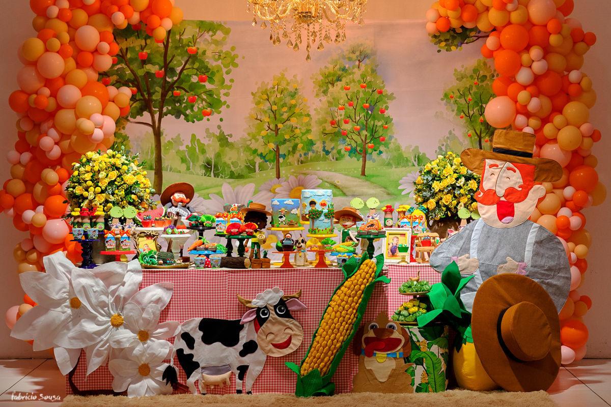 Imagem capa - Decoração festa infantil Bita Gostosuras Naturais por Fabricio Sousa