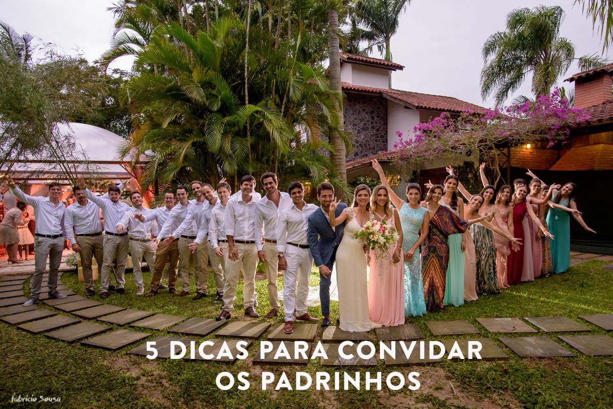 Imagem capa - 5 dicas para convidar os padrinhos de casamento por Fabricio Sousa