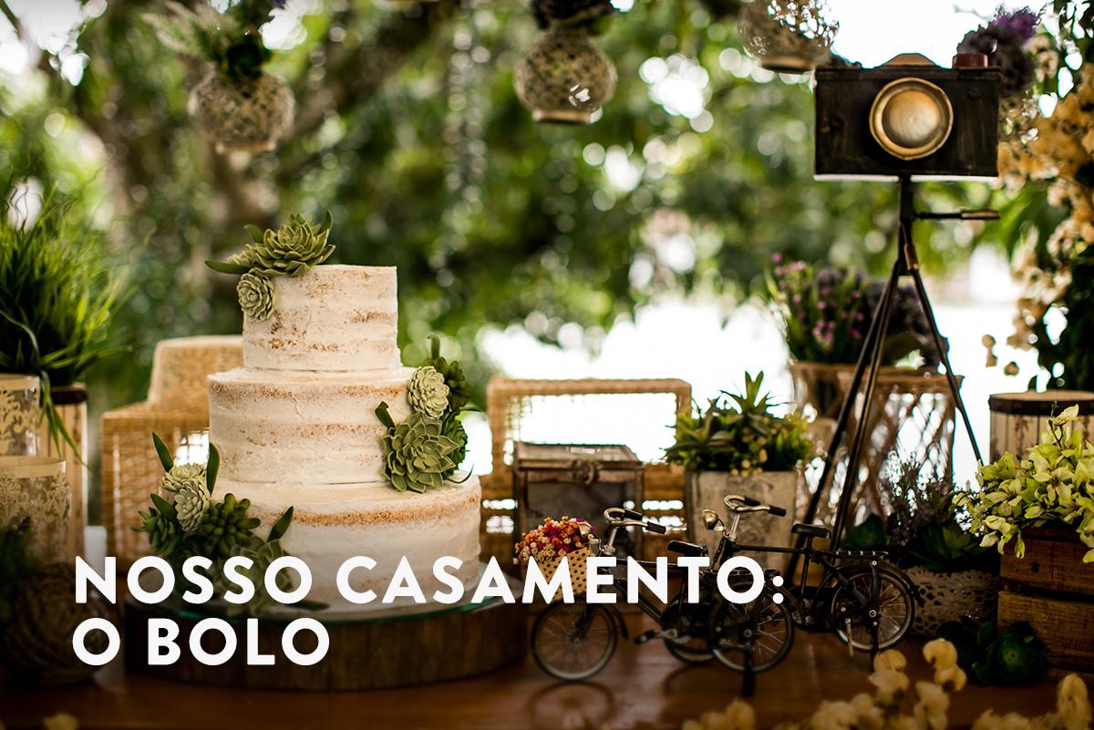 Imagem capa - Nosso casamento: o bolo por Fabricio Sousa