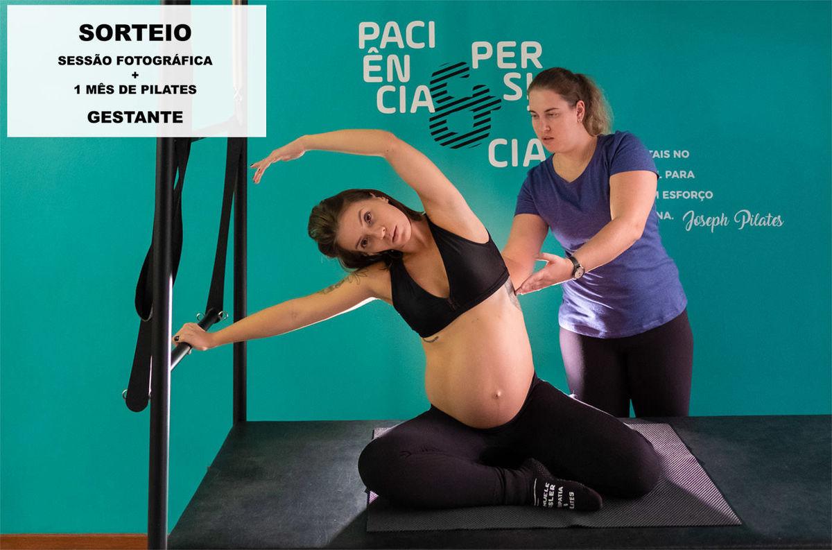 Imagem capa - Sorteio de ensaio gestante + 1 mês de pilates por Fabricio Sousa