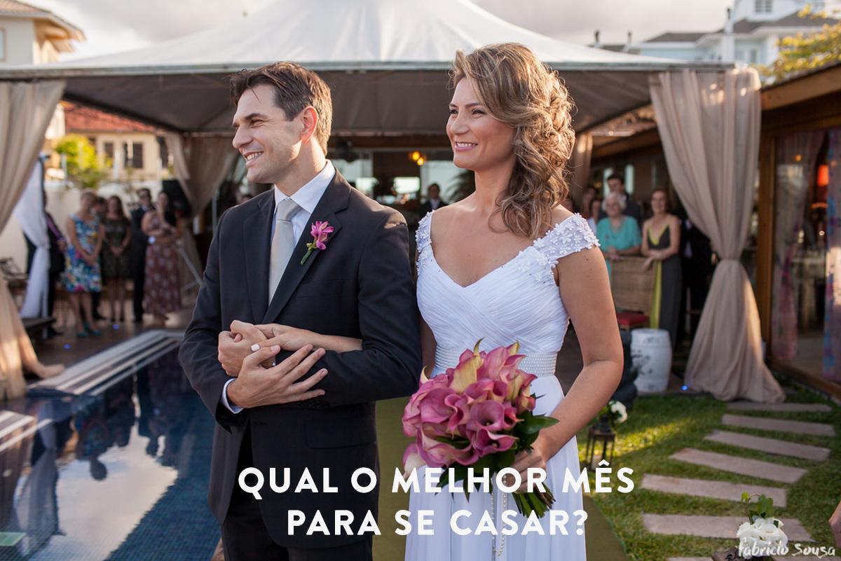 Imagem capa - Qual o melhor mês para se casar? por Fabricio Sousa