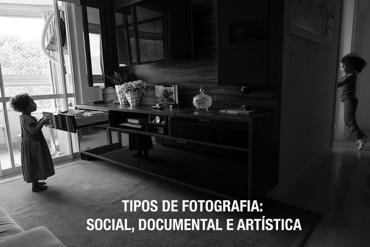 Imagem capa - Tipos de fotografia: Social, documental e artística por Fabricio Sousa