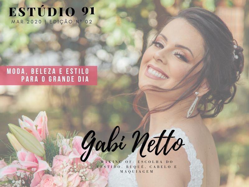 Imagem capa - REVISTA ESTÚDIO 91 | 2ª EDIÇÃO | GABI NETTO - MAKING OF por Rafael Bede Meirelles