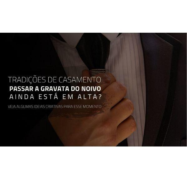 Imagem capa - Tradição de casamento: Passar a gravata do noivo, passar o sapato da noiva, o que fazer?  por Rafael Bede Meirelles