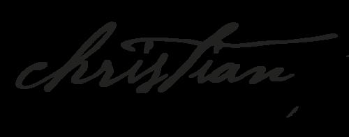 Logotipo de Christian Fotografia