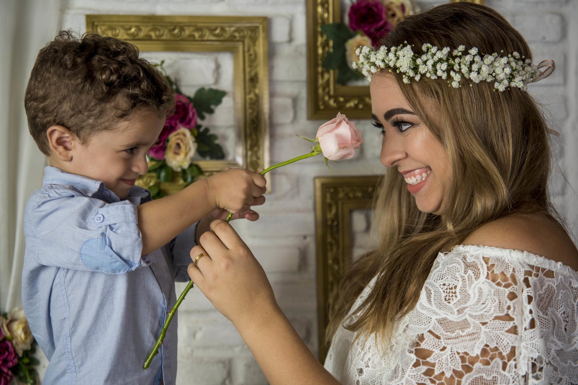 Imagem capa - Mini Ensaio de Dia das Mães por Rafaelly Lemos