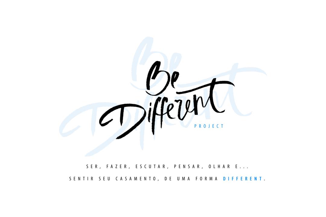 Imagem capa - Introdução - Be Different Project por Lauzier Mota