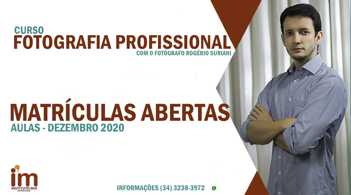 Imagem capa - Curso de fotografia em Uberlândia – MG com o professor Rogério Suriani por Rogério Medeiros Suriani