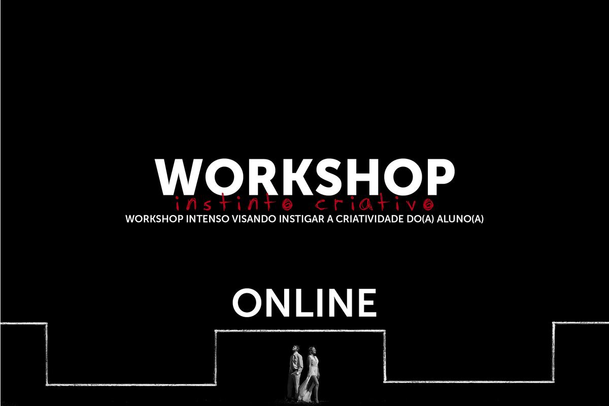 Imagem capa - Workshop - Online - Instinto Criativo por Daniel Ribeiro