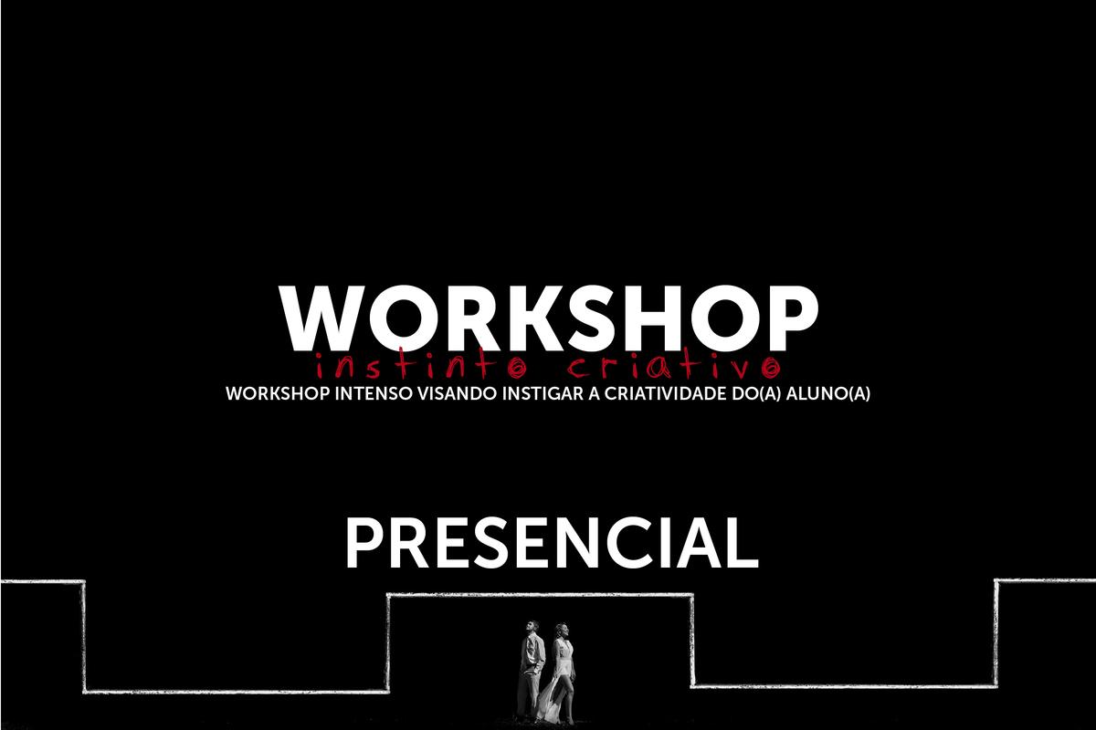 Imagem capa - Workshop Instinto Criativo - Presencial por Daniel Ribeiro