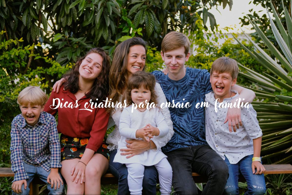 Imagem capa - Dicas criativas para um ensaio em família por Isis Vieira Fotografia