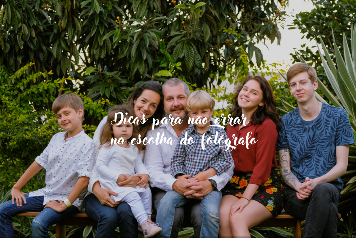Imagem capa - Dicas para não errar na escolha do fotógrafo por Isis Vieira Fotografia
