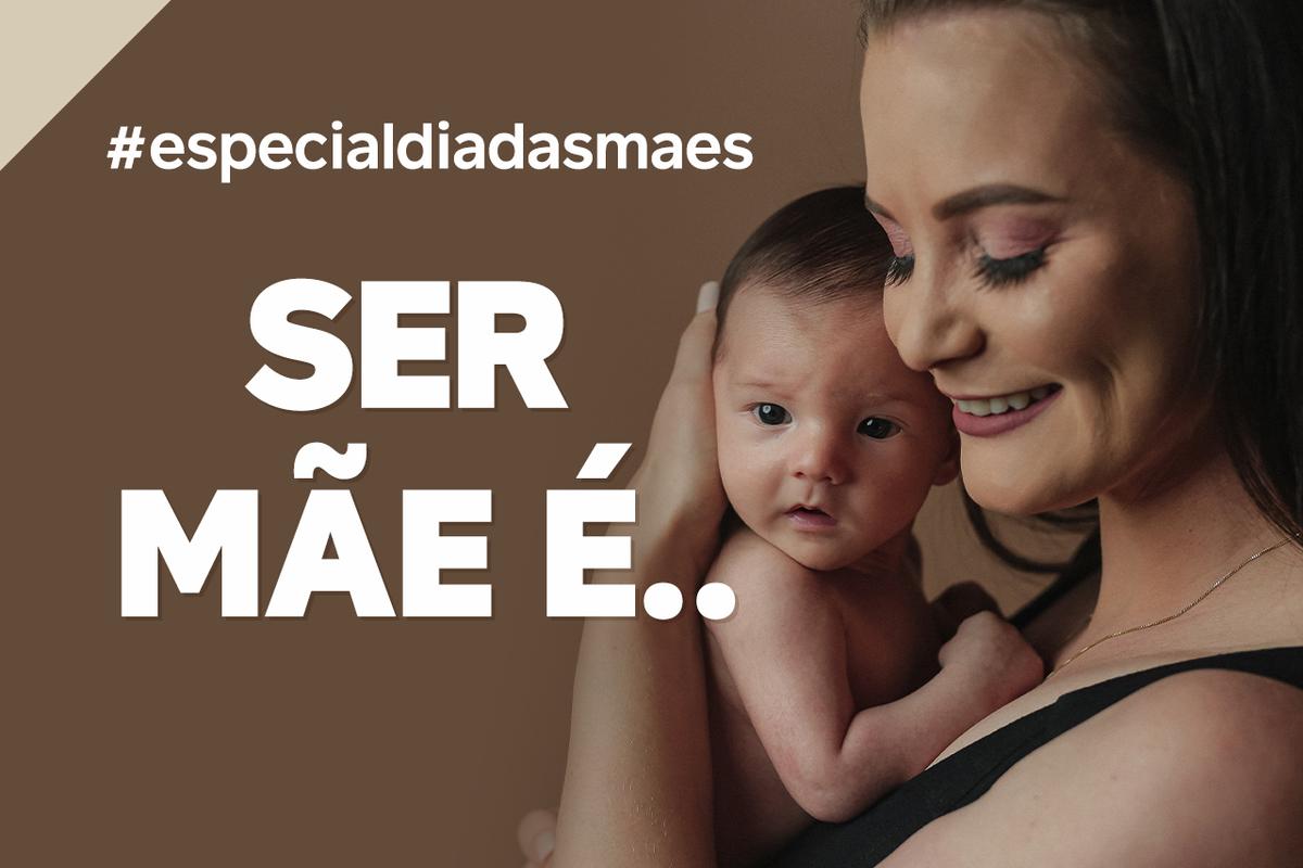 Imagem capa - SER MÃE É... por João e Marina Fotografia