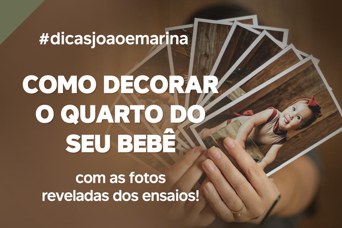Imagem capa - DICA: Como decorar o quartinho do seu filho com fotos reveladas por João e Marina Fotografia